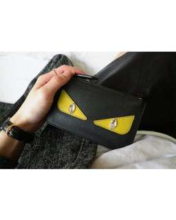 ❌SOLD  已售❌ Fendi Monster Coin card case holder 包