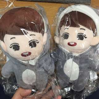 [WTB] EXO BABYBOO CHANYEOL & CMB CHANYEOL DOLL