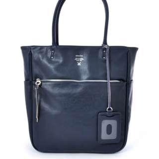 現貨特價日本直送2017新款Anello AT-N0571合成皮側孭袋男女合用