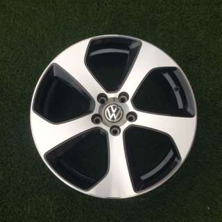 Original Golf GTI MK7 18 inch Austin Rims