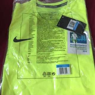 全新2018 渣馬Nike tee 男裝 M size