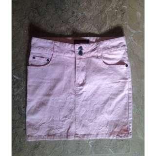 REPRICED: Pink High waist skirt
