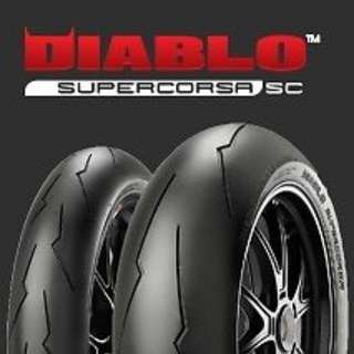 Pirelli sc2 front 120/70 rear180/60