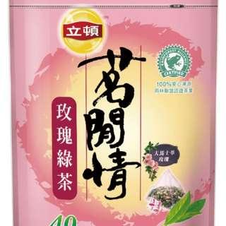 🚚 立頓茗閑情玫瑰綠茶