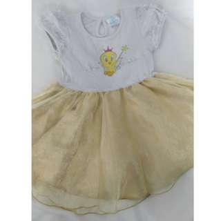LOONEYTUNES Baby Dress , Gaun kanak kanak perempuan