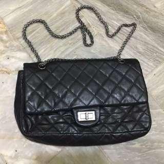 Chanel Reissue Large Black Double Flap