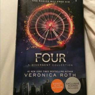 Four by Veronica Roth (Uncorrected Proof version)