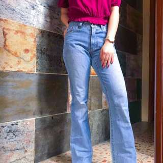 Faded Glory Flared Jeans
