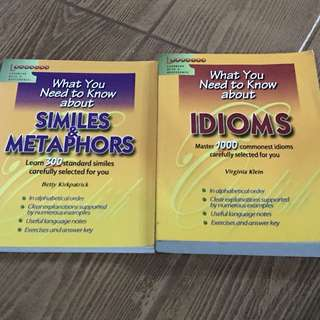 English idioms, similes and metaphors