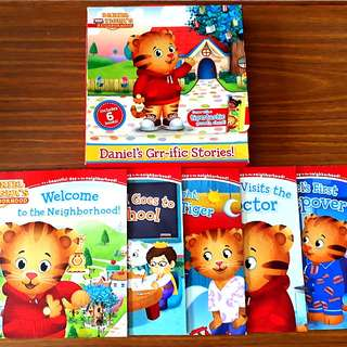 5 for $10: 5 Daniel's Grr-ific Stories ~ Daniel Tiger's Neighbourhood (Box provided)