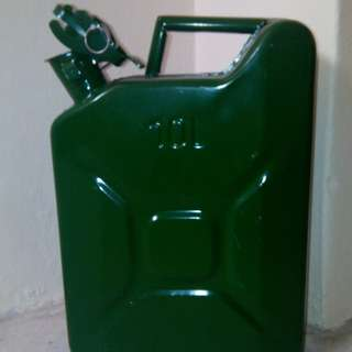 10 litres solid steel jerry can