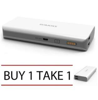 BUY 1 TAKE 1 ROMOSS POWERBANK SENSE 4 10400 mah