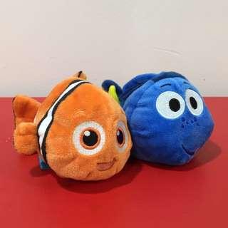 Nemo & Dory Plushie set