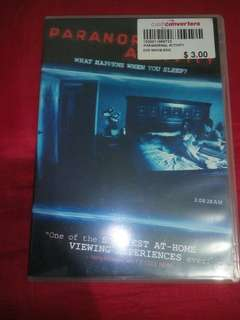 Paranormal Activity 1 DVD