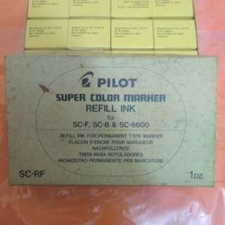 Pilot marker refill Ink
