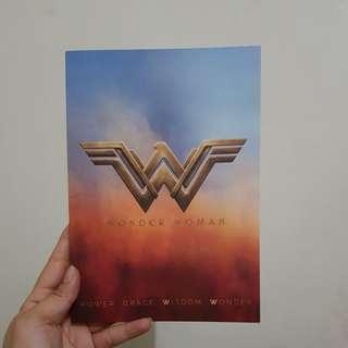 ORIGINAL Wonder Woman Notebook