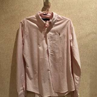 Ralph Lauren pink long sleeve polo