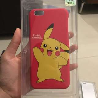 iPhone 6s Pikachu Red Case/Cover