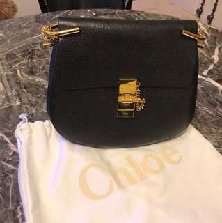 Chloe Drew small textured-leather shoulder bag