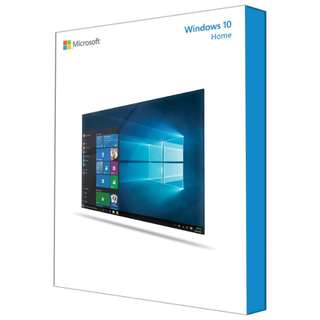Windows 10 Home edition 64bits