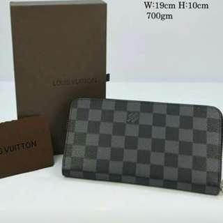 Louis Vuitton Zippy Wallet Graphite