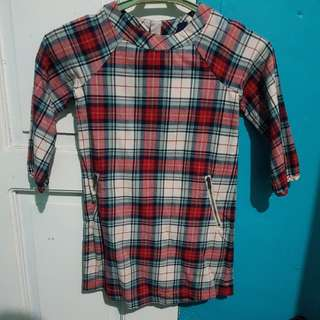BABYGAP: Checkered  dress. For TODDLER. (4 Y.O.)