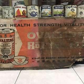 Vintage Ovaltine Sign
