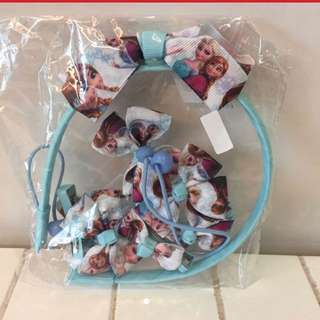 Disney frozen hair accessories set