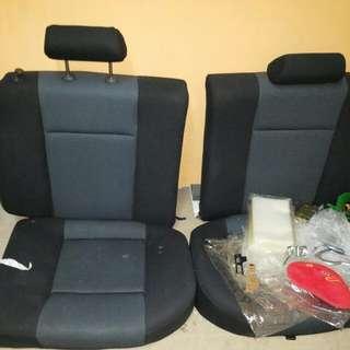Seat kereta savy belakang