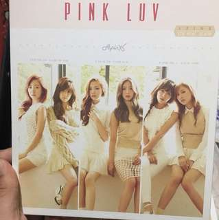 Apink Pink LUV 淨專