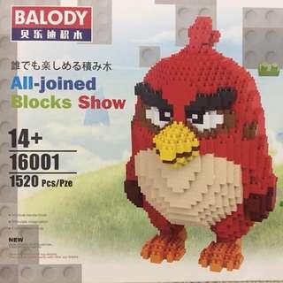 Microblocks Angry Bird