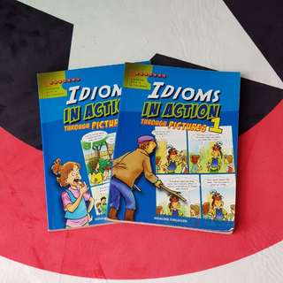 Idioms In Action - 2 books - Vocabulary Composition vocab compo - Primary level