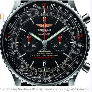 BREITLING NAVITIMER SEA LIMITED EDITION