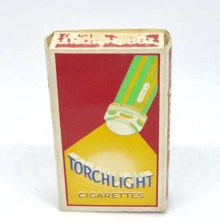 Vintage Torchlight Cigarette Box