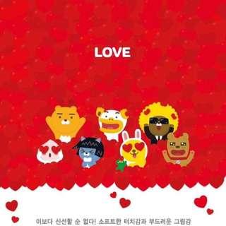 🚚 韓國正版kakaofriends超薄防摔矽膠軟套