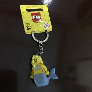 Authentic Brand New Lego Mermaid Keychain