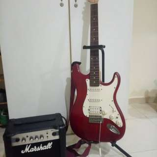 Guitar and Amp for sale