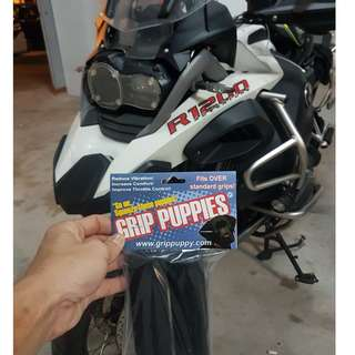 GRIP PUPPIES INSTALLED ON BMW GSA 1200LC  29/1/2018