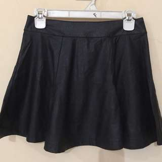 Leather skirt S