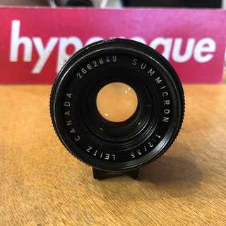 Leica 35mm Summicron V3 (Leitz Canada)