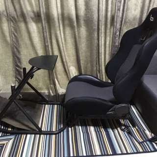 Obutto Sim Racing Seat/Cockpit