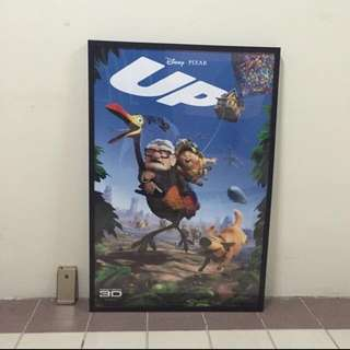 Up Movie Poster ( full size and framed)