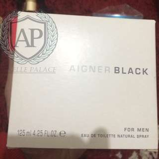 Aigner Black Original Product 125ml EDT Aigner Black Original Product 125ml EDT (TESTER)