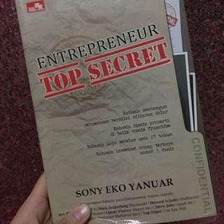 Entrepreneur Top Secret - Sony Eko Yanuar