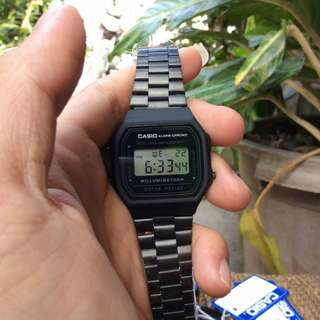 Casio Vintage Black Matte