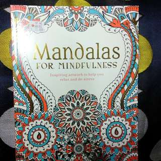 Mandalas for Mindfulness Colouring Book for Adults