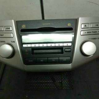 Toyota Harrier original cd player