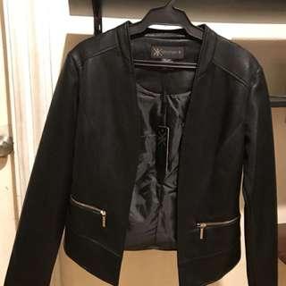Kardashian Kollection Python Double Zip Jacket