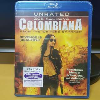 Colombiana bluray