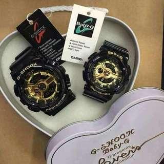 Couple G-Shock